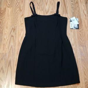 Vintage Cocktail RAMPAGE Dress black slip dress